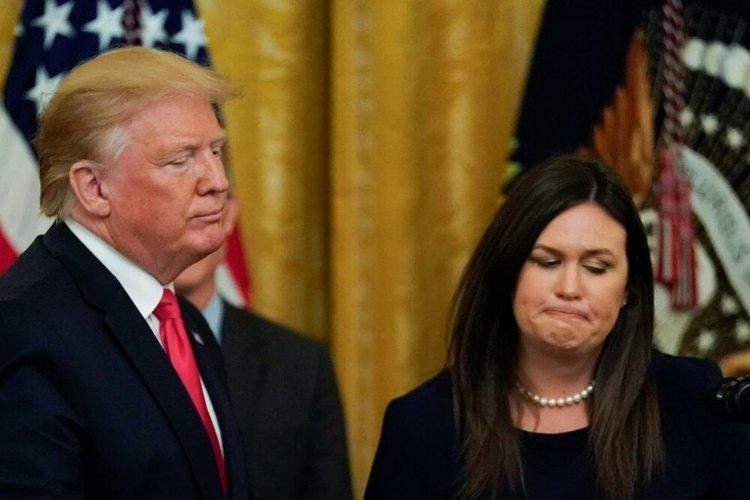 سارا سندرز: اون به من چشمک زد، ترامپ گفت فداکاری کن!