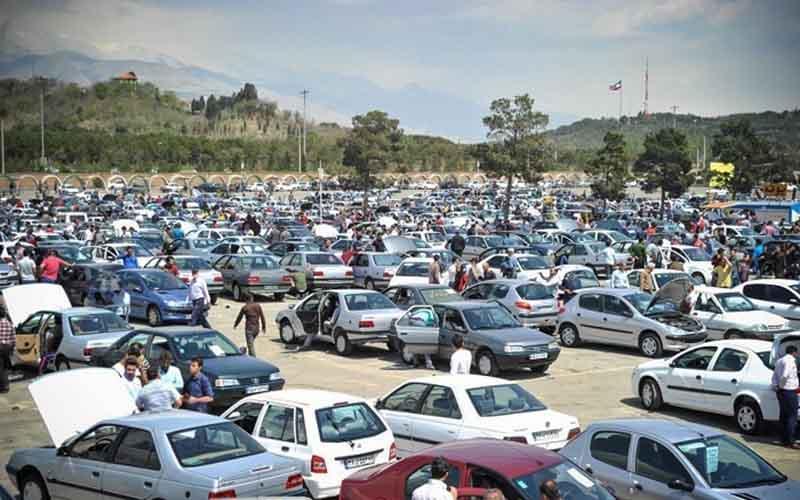 شیب نزولی قیمت خودروها ، بازگشت پراید به زیر 100 میلیون